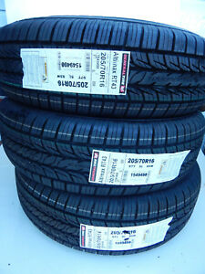 3 New 205 70r16 General Altimax Rt43 Tires 97 T 205 70 R16 97t