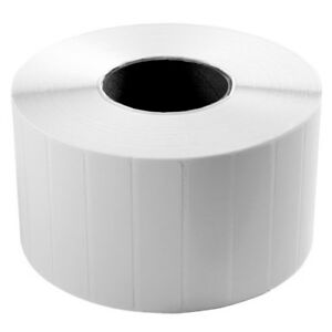 Wasp 4 X 1 Barcode Labels W 1 Core 2300 roll X 4 Rolls