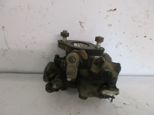 Ford Golden Jubilee Tractor Zenith Carburetor Take Off