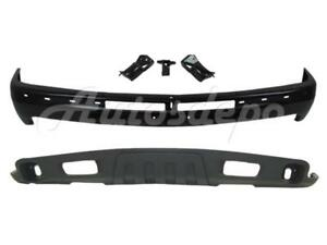 For 00 06 Chevy Suburban Tahoe Z71 Front Bumper Valance Air Dam 2pcs