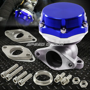 35mm 38mm Turbo Charger Manifold Blue 8 Psi Compact 2 bolt External Wastegate