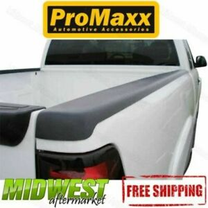 Promaxx Black Plastic Truck Bed Caps No Holes Fits 2007 2013 Chevy Silverado 8