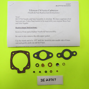 Tillotson Carburetor Cm1 Cm2 Cm3 Cm4 Kit Continental Motors 1a08 1a016 4a032