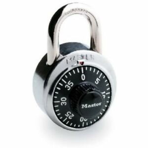 Master Lock 1500d 1 7 8 Combination Dial Padlock Pack Of 10