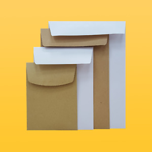 Small Brown Or White Pocket Envelopes Gummed Quantities From 50 5000 80 90g