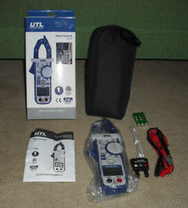 Linear Measurement Utl291 Clamp On Multimeter With Temperature New In Box