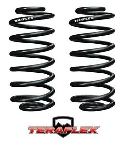 Teraflex Tj 3 Lift Rear Coil Springs Pair For 1997 2006 Jeep Wrangler Tj Lj