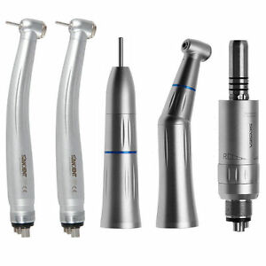 Dental Contra Angle Straight Air Motor Fit Kavo 2 high Speed Handpiece 4h Wl2e