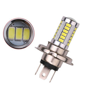 New H4 Super Bright 5630 Smd 33 Led Auto Car White Fog Lamp Light Bulb Driving