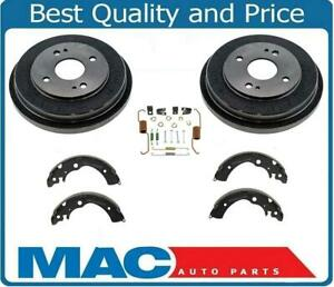For 1990 To 2002 Accord 2 Brake Drum Kit Fits Models With Rear Drums Only