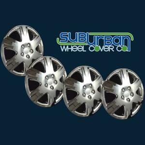 Toyota Corolla Le Style 422 15c 15 Chrome Hubcaps Wheel Covers New Set 4