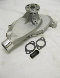 Big Block Chevy Satin Aluminum Water Pump Short Bbc 396 427 454 High Volume