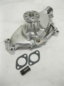 Big Block Chevy Polished Aluminum Water Pump Short Bbc 396 427 454 High Volume