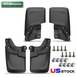 Mud Flaps Mud Guards Splash Flares Molded For 2016 2018 Toyota Tacoma Front Rear