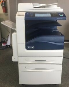 Xerox Workcentre 7525 25 Ppm Color Multifunction Copier Printer Scanner Fax