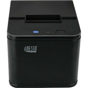 Adesso Zebra Lp 2844 Label Barcode Inch Receipt Thermal Printer Black 2