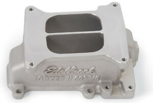 Edelbrock Performer Intake Manifold 3789 Chevy V6 2 8l Fits Stock Heads