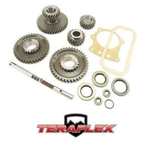 Teraflex Low300 Low Range Dana 300 Gear Set Kit Manual For 1981 1986 Jeep Cj7