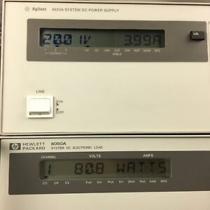 Hp agilent 6623a Power Supply 80w 3 Ch Load Tested All 3 Outputs Are Good