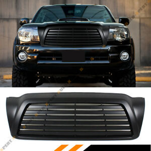 For 2005 11 Toyota Tacoma Matt Blk Jdm Horizontal Front Replacement Grill Grille