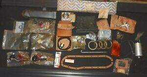 Lot Of Vintage Nissan Datsun Auto Parts Accessories Misc Items See Pics