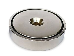 430lb Pull Force Ultra Strong Powerful Neodymium Cup Magnet Strongest Mag