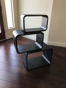 Nesting Tables Stacking Shelves Mid Cenrury Contemporary