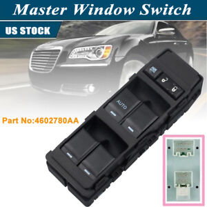 New Oe 4602780aa Window Master Switch Driver Side For 04 14 Chrysler Dodge Jeep
