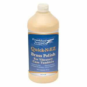 Frankford Arsenal Firearm Reloading 321901 Quick-n-EZ Brass Polish - 32 oz.
