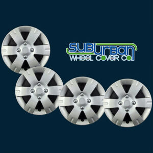 Fits 2007 2012 Nissan Sentra 15 Replacement Hubcaps Wheel Covers 436 15s Set 4