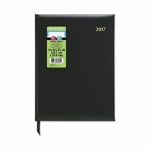 Day timer Weekly Appointment Book Planner 2017 Executive 7 1 2 X 10 Black