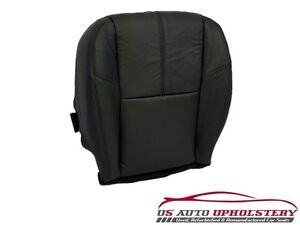 2009 Chevy Silverado 1500 Lt 2500hd driver Side Bottom Leather Seat Cover Black