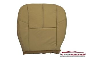 2009 Chevy Silverado 1500 2500hd Lt Driver Bottom Leather Seat Cover Cashmir tan