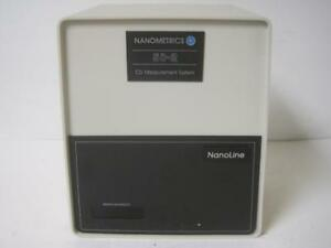 Nanometrics Nanoline Co Measurement Systems 50 2 Replacement Head Works Rare