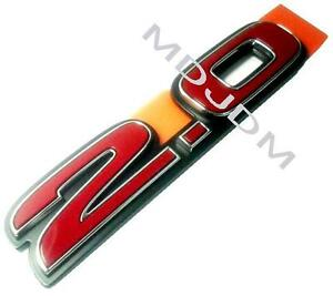 Jdm Honda Genuine Civic Si 2 0 Red Emblem Fd2 Type R From Tokyo Super Fresh One