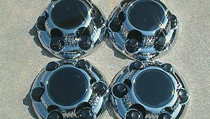 Chevy Gmc 6 Lug 16 17 Chrome Center Caps Hub Caps New Set Of 4