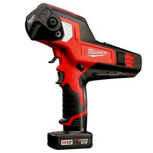 Milwaukee 2472 21xc M12 12 volt 600 Mcm Cable Cutter W Battery
