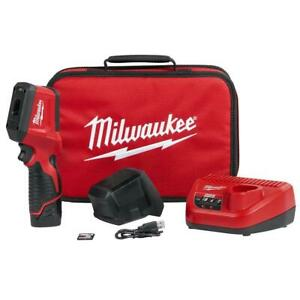 Milwaukee 2258 21 12 volt 320x240 pixels Fixed Focus Thermal Imaging Kit
