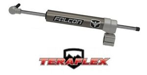 Teraflex Falcon Nexus Ef 2 1 Steering Stabilizer On 1 3 8 Tie Rod 07 18 Jeep Jk