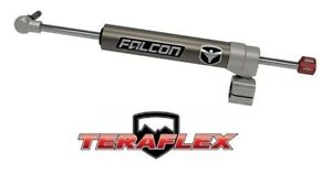 Teraflex Falcon Nexus Ef 2 2 Steering Stabilizer On 1 3 8 Tie Rod 07 18 Jeep Jk