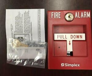 New Simplex 4099 9004 Pull Station Single Action