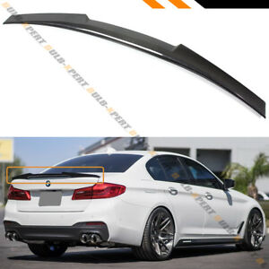 For 2017 2020 Bmw G30 530i 540i F90 M5 Carbon Fiber Trunk Spoiler Wing M4 Style