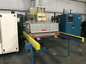 Thermatron F10 30 Platen Press With Front Load Shuttle 10kw Yf 107m