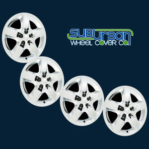 07 08 09 10 Saturn Aura 435 17c 17 Chrome Hubcaps Wheel Covers New Set 4