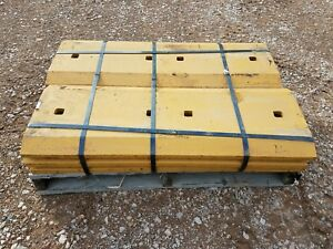 6 John Deere Genuine Oem 944k Wheel Loader Cutting Edges Part T286930