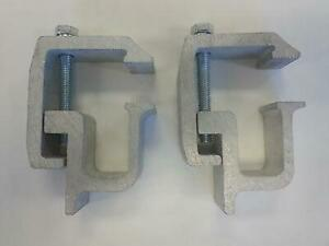 Truck Cap Topper Camper Shell Mounting Clamps Heavy Duty 4 Piece Tl2002