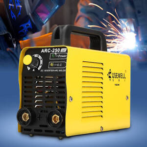 160 Amp Stick Arc Welder Inverter Dc Welding 110 230v