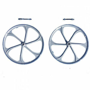 26 Mag Wheels Aluminum Alloy Wheel silver Color 66 80cc Gas Motorized Bicycle