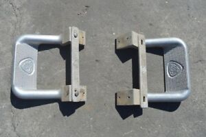 1992 1993 1994 1995 1996 Ford F250 Running Board Steps Pair
