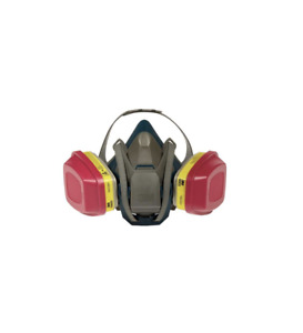 Safety Mask Reusable Respirator Chemical Valved Quick Release Carbon Layer